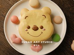 糖艺社马卡龙蛋糕作品