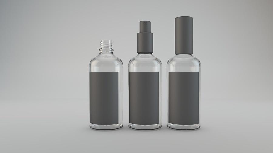 瓶子包装|电商|网页|熊猫和兔子 - 原创设计作品