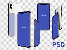 【PSD】您要的 iphone X Mockup 来了