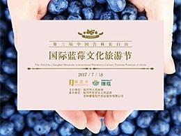 蓝莓节:线上线下物料制作