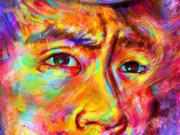My face ART-伤是一种信念