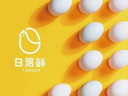 【日易鲜·智能贩蛋】核桃VI品牌形象设计