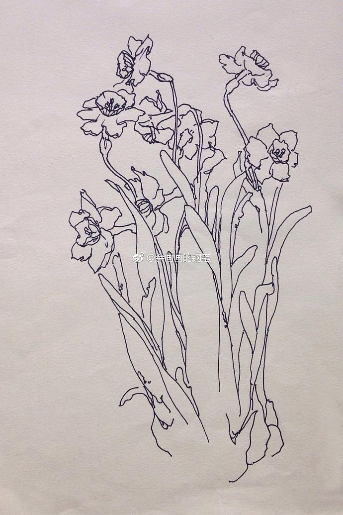 简笔画 手绘 线稿 690_1035 竖版 竖屏