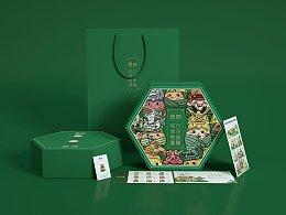 九子粽礼盒设计