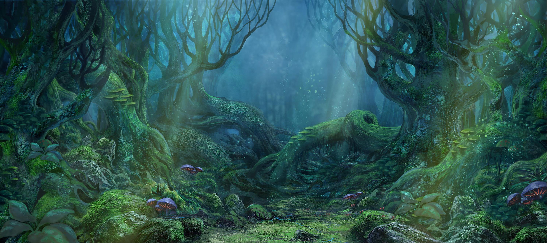 石像森林图片