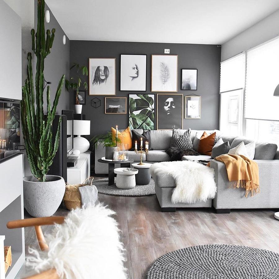 以冷色调管控的家居设计|室内设计|要点|HEYM精装修给排水v冷色为主空间图片