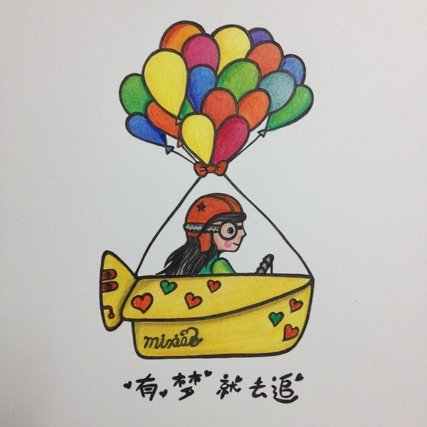 彩铅手绘小画|绘画习作