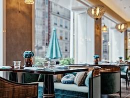 一套异域风情的咖啡厅