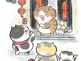 春节的习俗喵星人版