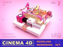 C4D作品 | 建模渲染 | 三维