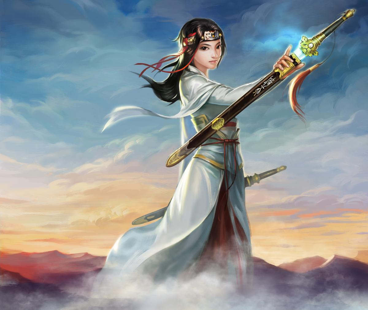 中国风人物原画