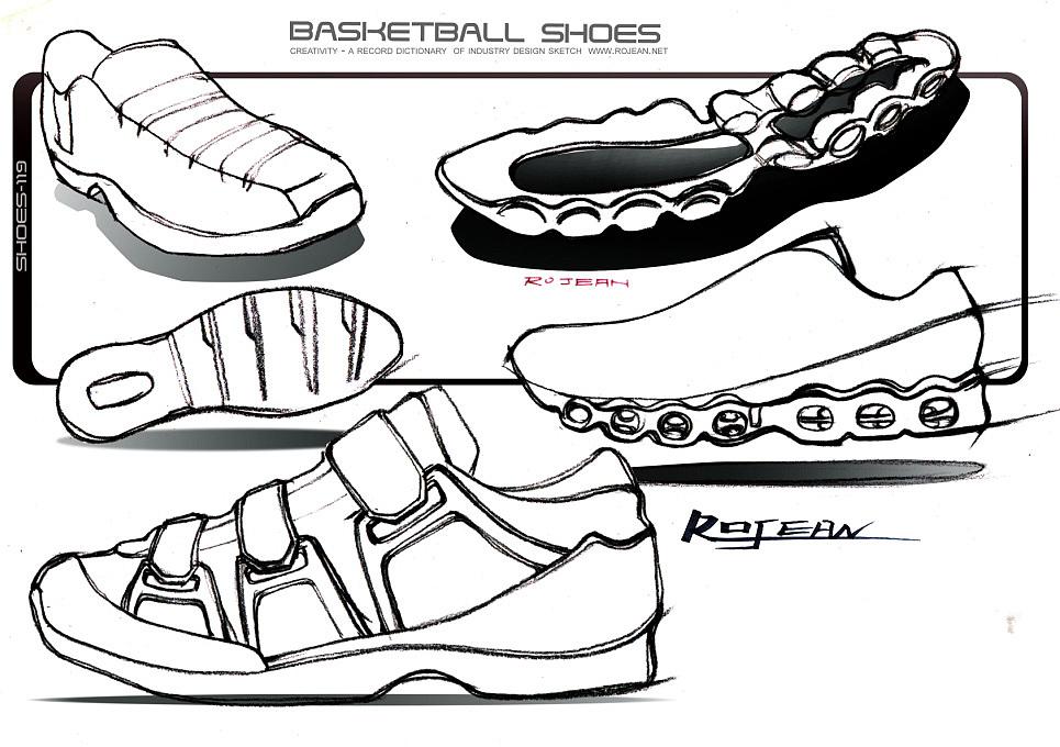一组运动鞋设计手绘(高清,无码,无水印大图)和小伙伴们多交流,多讨论
