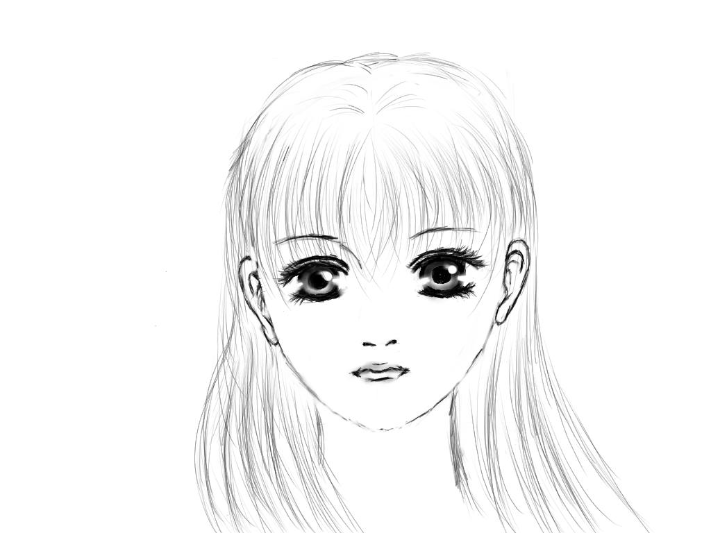 漫画少女头像