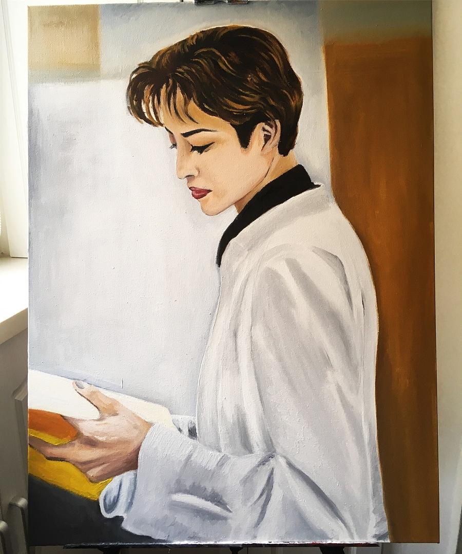 查看《Two Oil Paintings Recently》原图,原图尺寸:3024x3621