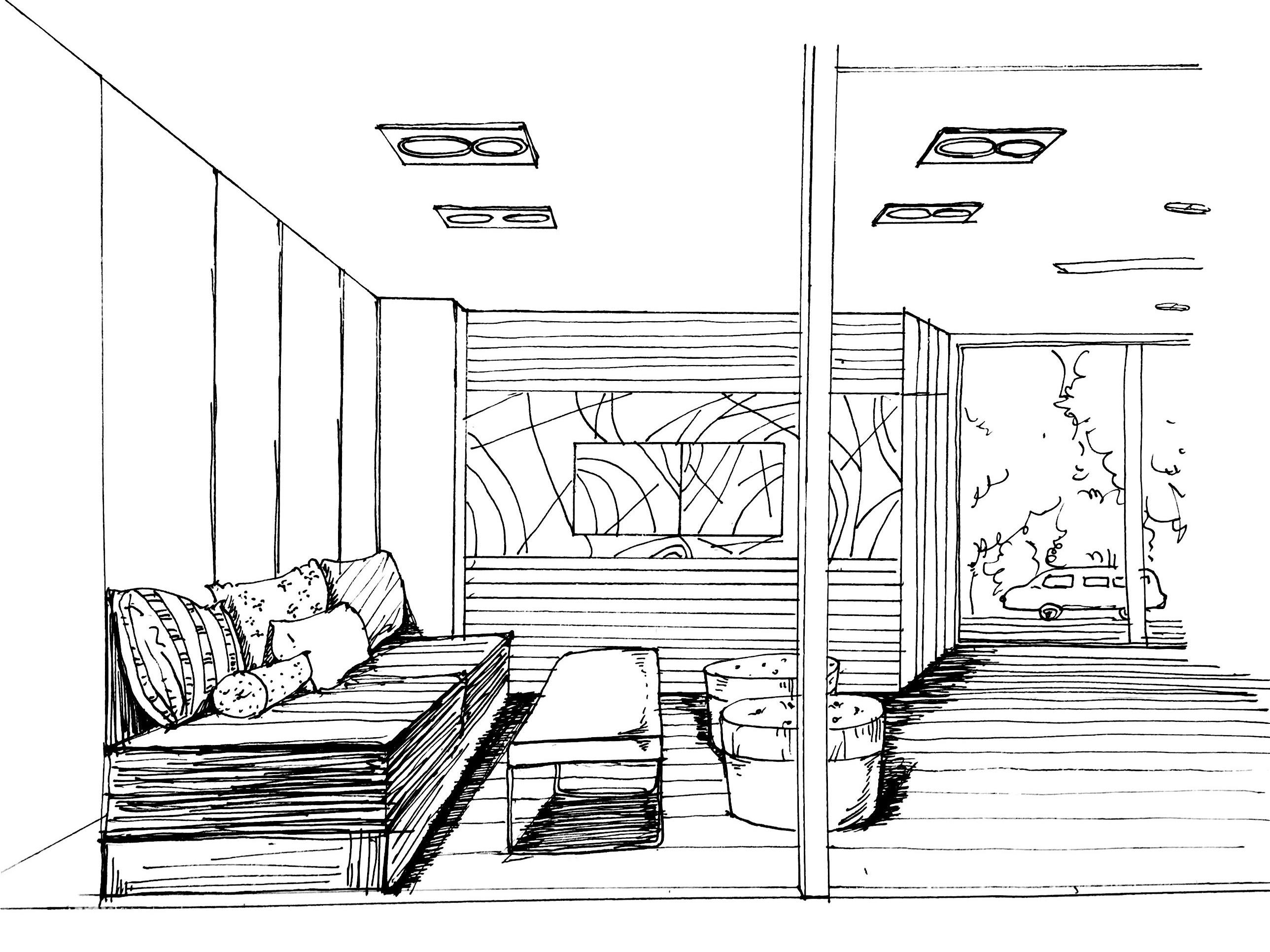 私人住宅设计|空间|室内设计|毛皮儿 - 原创作品