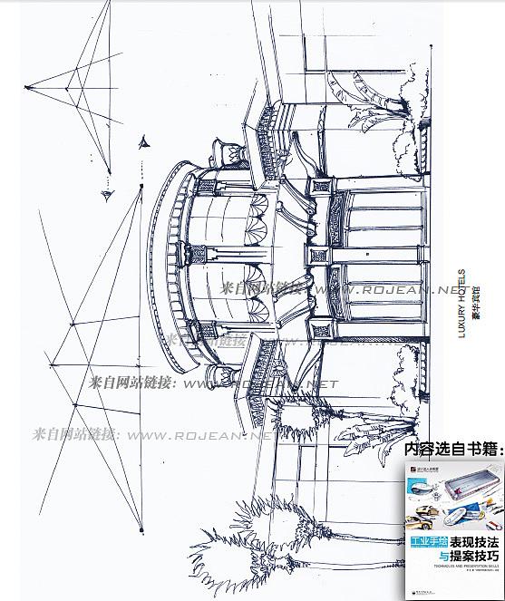 《工业手绘表现技法与提案技巧 》基础手绘篇(线条,透视)