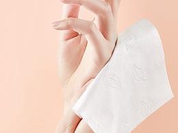餐巾纸拍摄