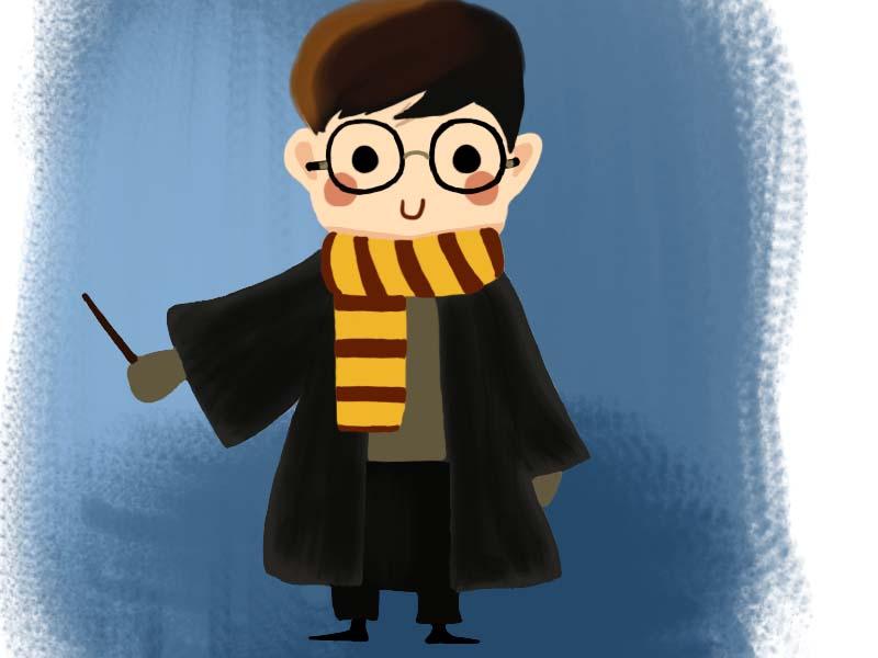 day125-手绘哈利波特临摹