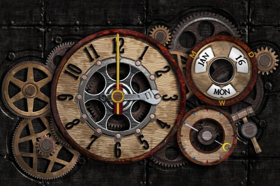 机械时钟a