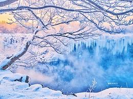 冬日镜泊湖