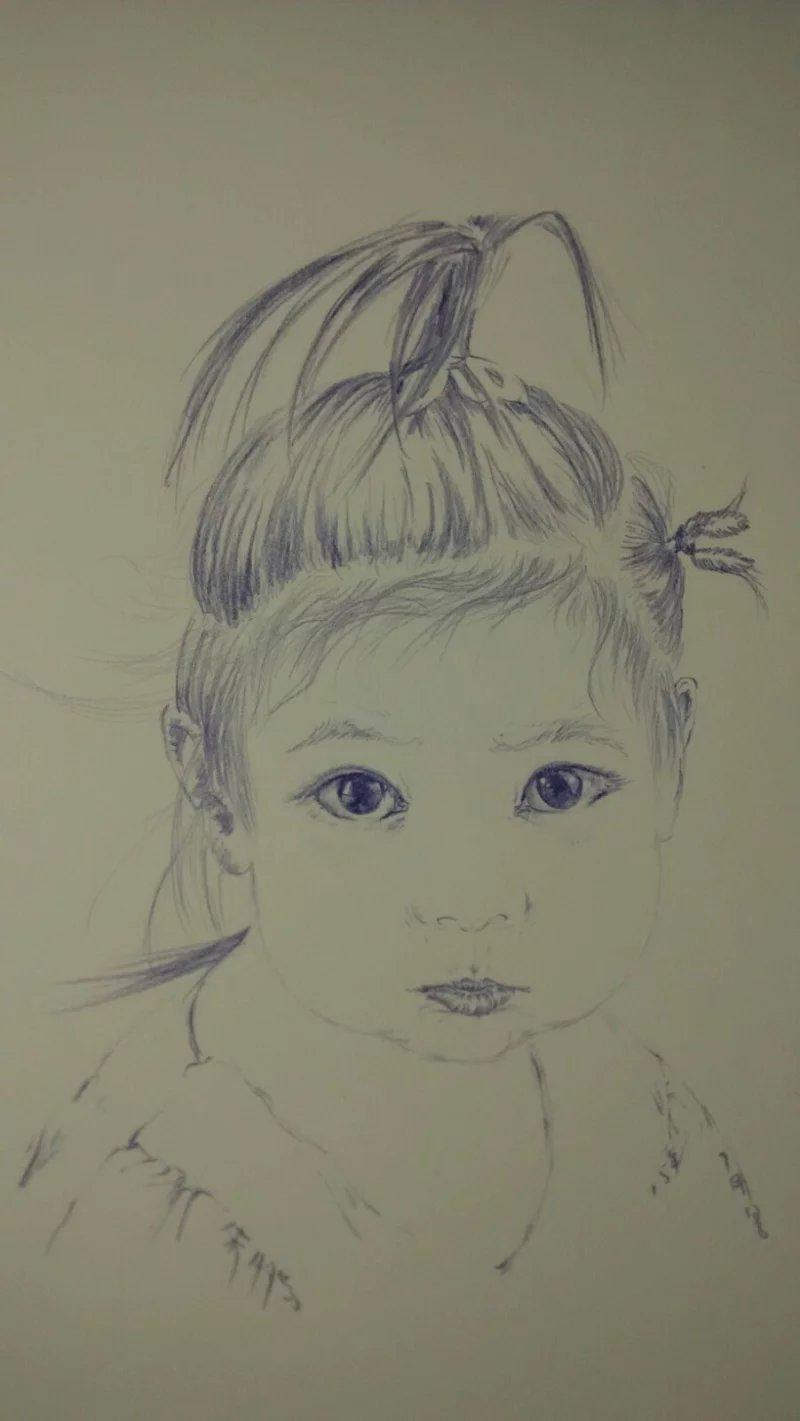 手绘练习稿|绘画习作|插画|guorongqj