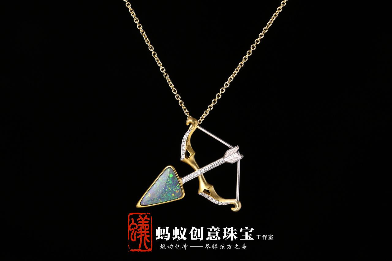 蚂蚁创意珠宝镶嵌----欧珀原创设计镶嵌图片