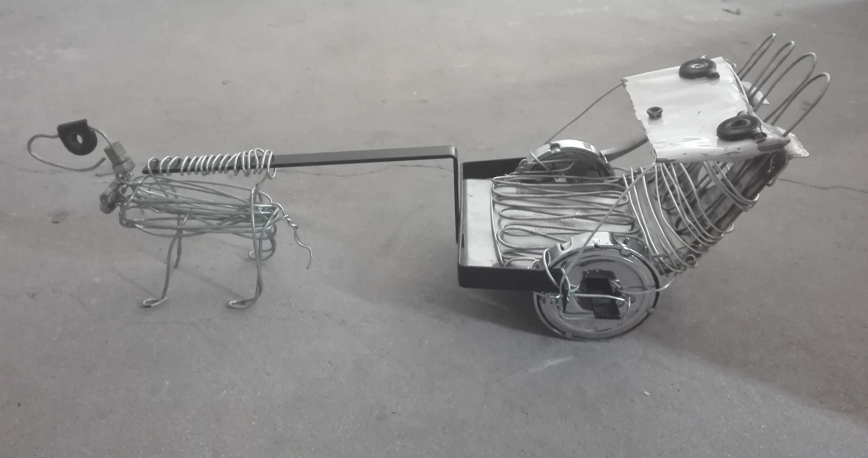 马车手工制作方法