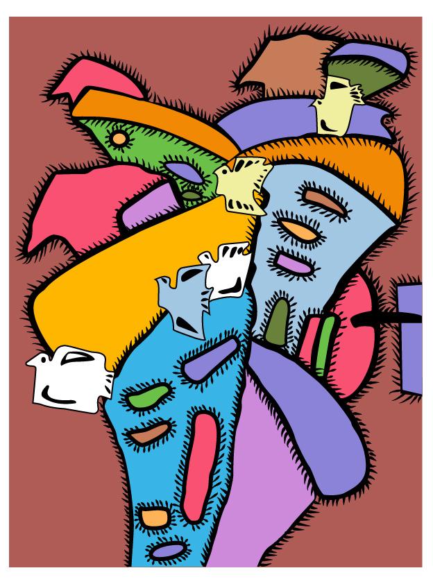 """""""和平""""为主题的装饰画"""