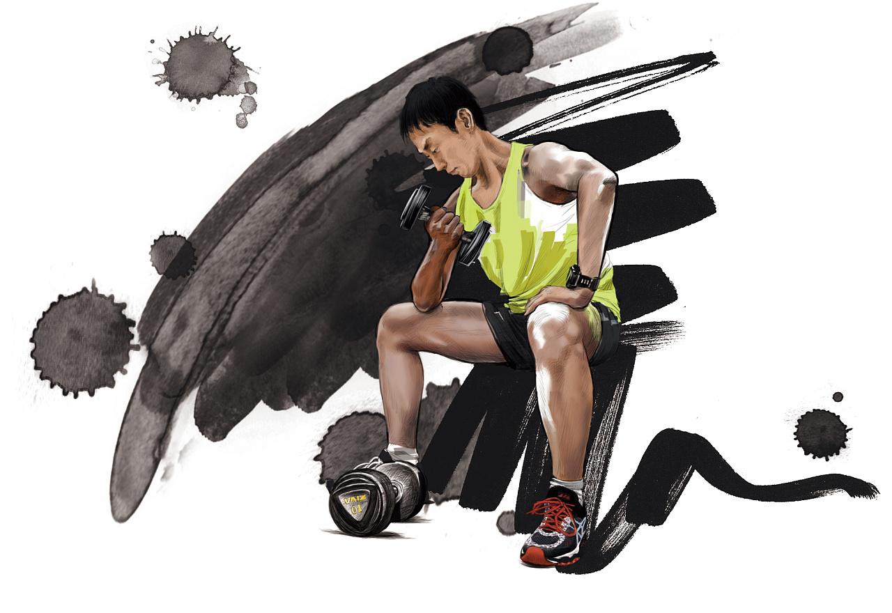 正义「未来画影」手绘人物插画|插画|商业插画|正义戊