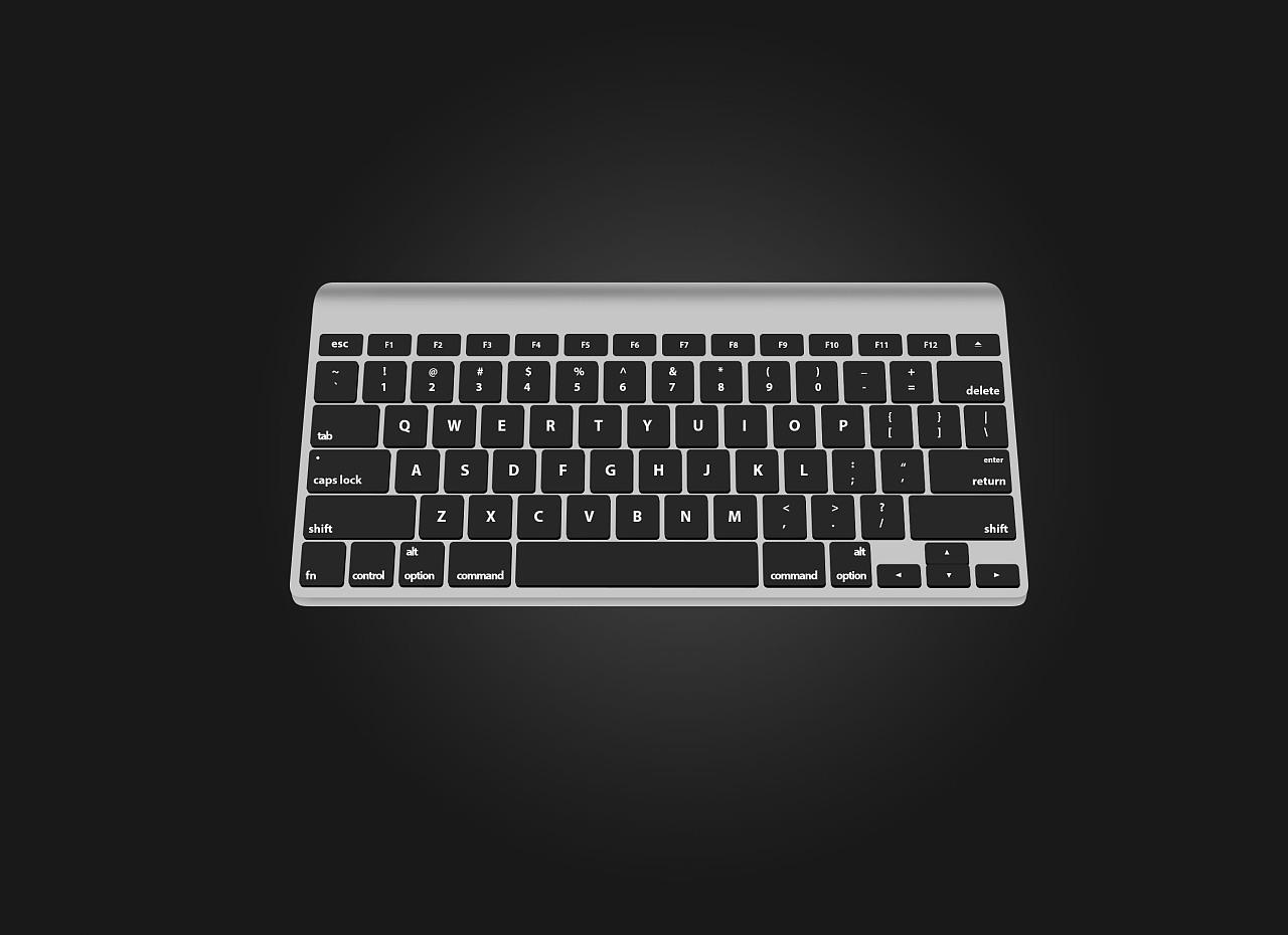 键盘手绘创意画