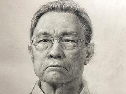 素描钟南山教授-《国士无双》