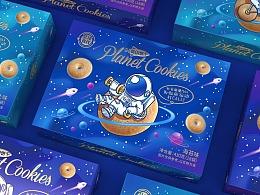 星球食代-代餐饼干包装设计
