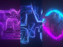 C4D XP粒子教程——logo演绎(五)