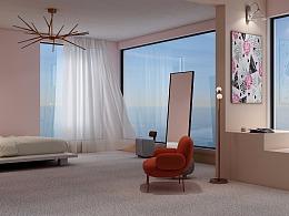 颜色生物-master bedroom