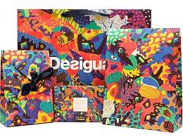 Nick Liefhebber 为时尚品牌Desigual打造包装视觉设计