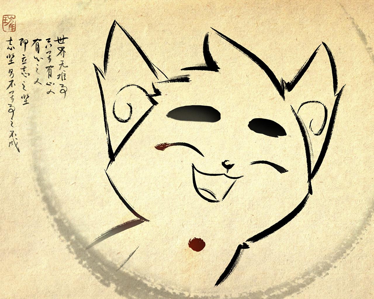 京剧猫 安卓手机壁纸