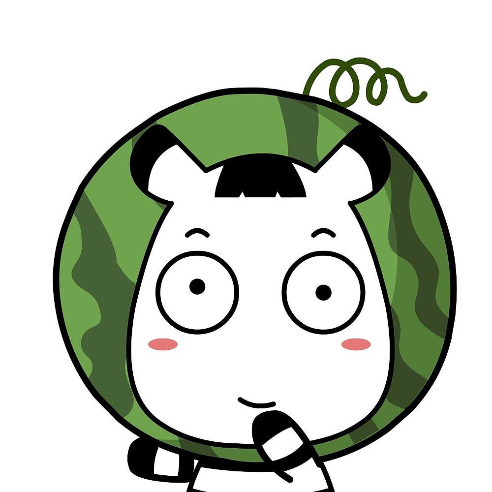 斑马君情侣卡通头像图片
