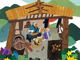 一本繪本的誕生《朝三暮四》 | Zhao San Mu Si