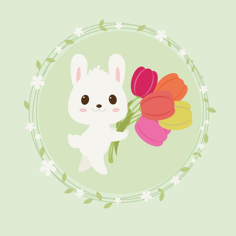 查看《萌兔练习》原图,原图尺寸:818x818