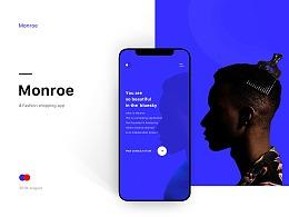 Monroe APP UI/UX Design