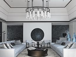 曾建龙设计 中式客厅——照片模仿
