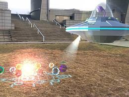 【UI】AR游戏 KAIDAN: Energy Stone 增强现实 UI设计