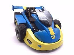 自制QQ飞车新手赛车模型
