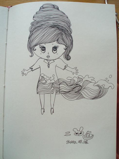 一些小女孩儿|绘画习作|插画|waterming