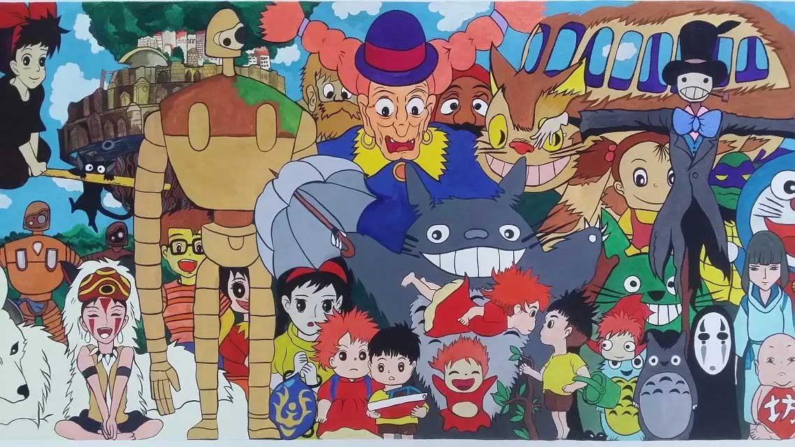 宫崎骏彩妆大合集|漫画|中/动漫漫画|动画长篇小古房时尚图片