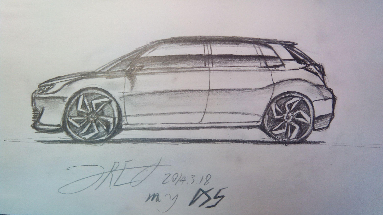 素描汽车手绘网