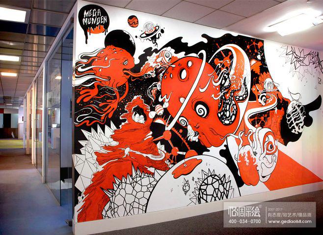 墙绘 时尚涂鸦图片