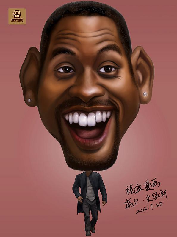 国外男明星漫画漫画|漫画|动漫漫画|福全肖像-优秀肖像的最图片