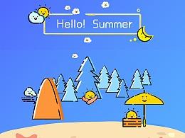 MBE风夏日主题图标