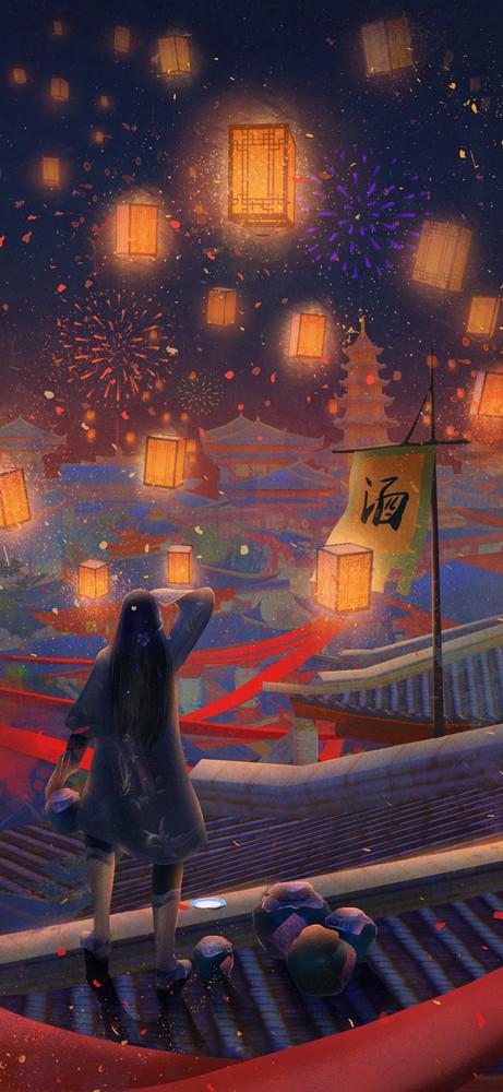 查看《楚留香武侠古风宣传插画》原图,原图尺寸:461x1000